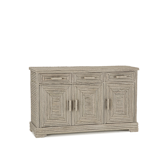 Rustic Buffet #2112 (Shown in Taupe Finish)