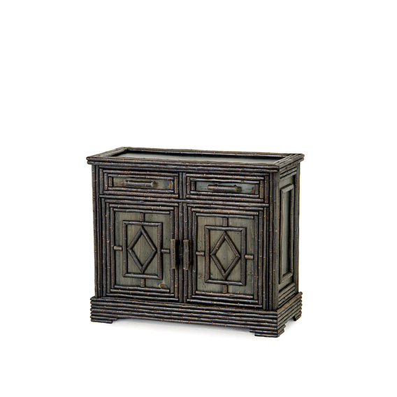 Rustic Buffet #2120 shown in Ebony Premium Finish (on Bark)