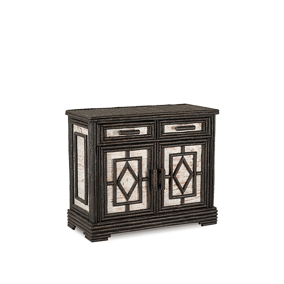 Rustic Buffet #2514 shown in Ebony Premium Finish (on Bark)