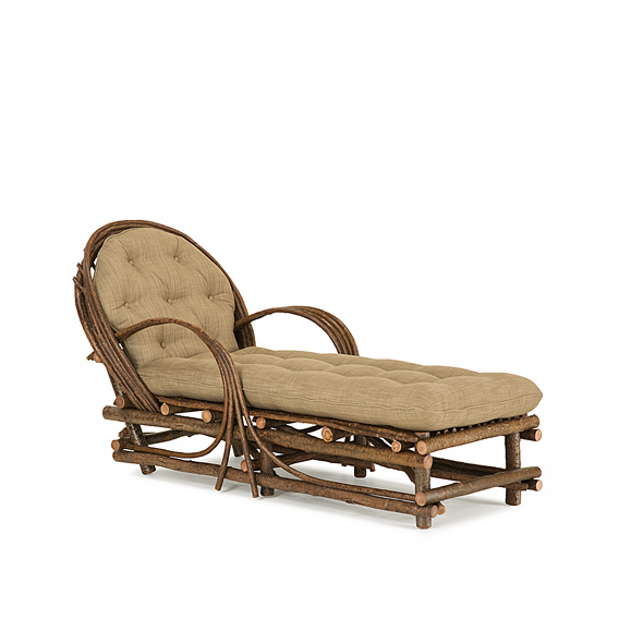 Rustic Chaise #1036 (shown in Natural Finish)