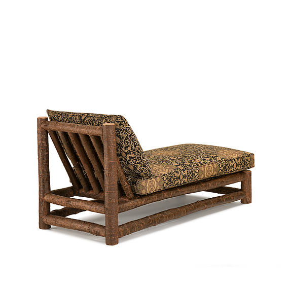 Rustic Chaise #1256 (Shown in Natural Finish on Bark)