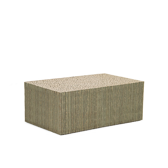 Rustic Coffee Table #3588 (Shown in Sage Finish)