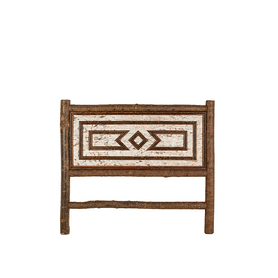 Rustic Headboard Queen #4574 (shown in Natural Finish)