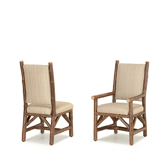 Rustic Dining Side Chair #1164 & Dining Arm Chair #1166 (Shown in Natural Finish)