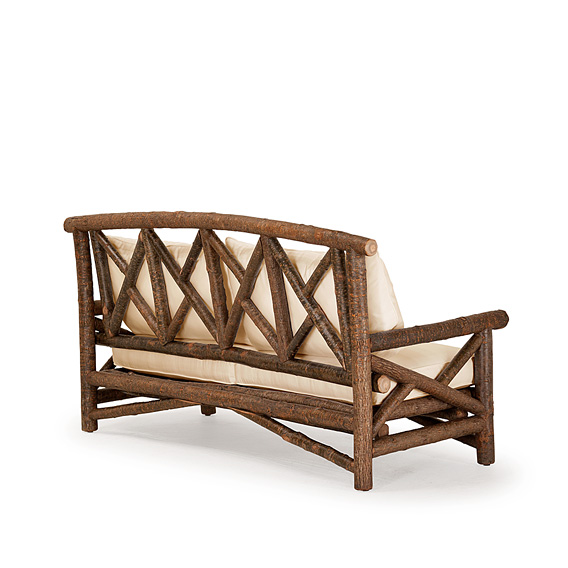 Rustic Sofa #1240 shown in Natural Finish (on Bark)