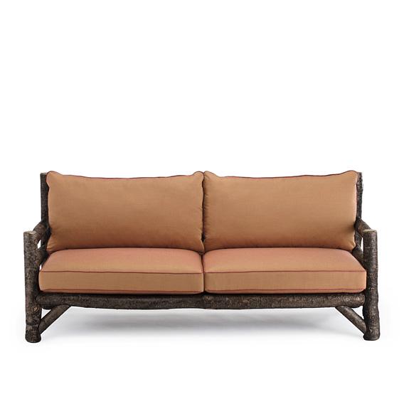 Rustic Sofa #1246 shown in Ebony Premium Finish (on Bark)
