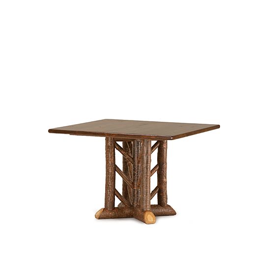 Rustic Dining Table #3600 (Shown in Natural Finish & Medium Pine Top)