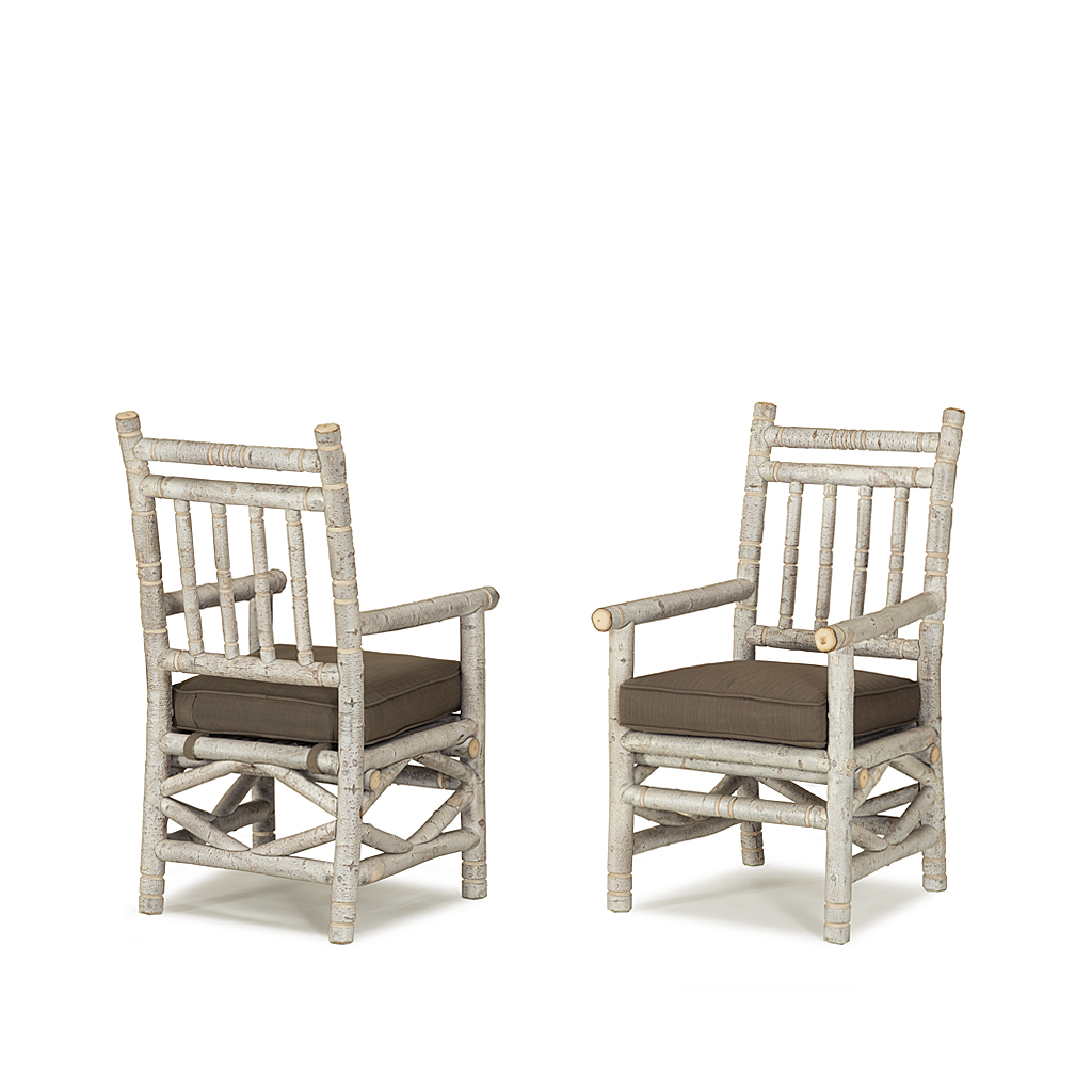 ... Rustic Dining Arm Chair #1200 (Shown in Whitewash Finish with Optional Loose Seat Cushion ...  sc 1 st  La Lune Collection & Rustic Dining Side Chair u0026 Arm Chair | La Lune Collection