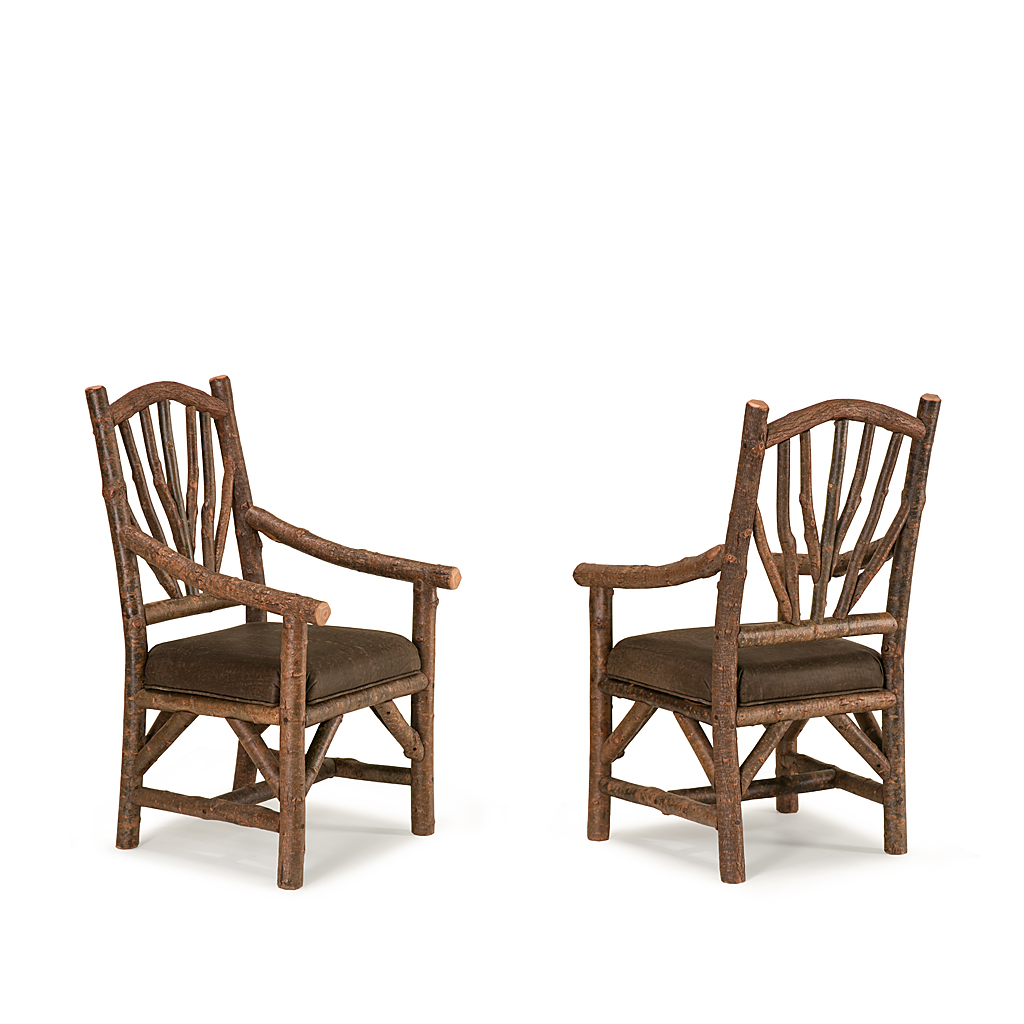 Rustic Dining Arm Chair 1402 Shown In Natural Finish La Lune Collection