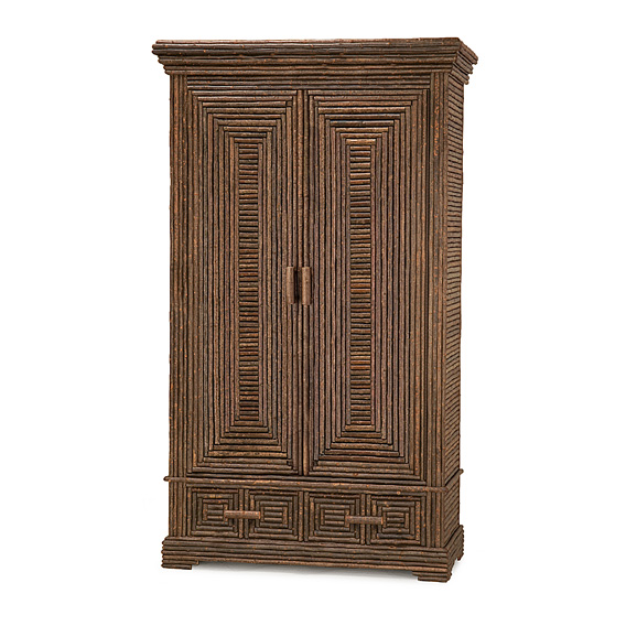 Rustic Armoire #2018 (Shown in Natural Finish)