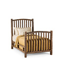 Bed Twin #4000 shown in Natural Finish (on Bark) La Lune Collection