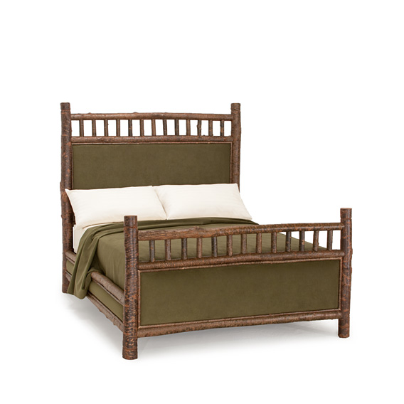 Rustic Bed Queen #4243 (Shown in Natural Finish on Bark)
