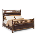 Bed King #4245 shown in Natural Finish (on Bark) La Lune Collection