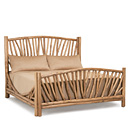 Bed King #4306 shown in Pecan Premium Finish (on Peeled Bark) La Lune Collection