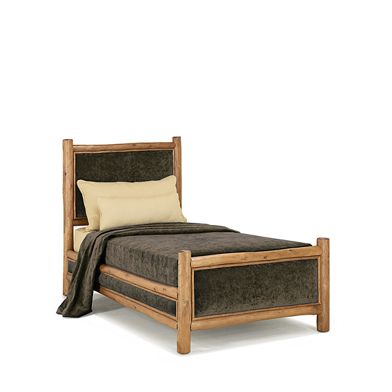 Rustic Bed Twin #4700 (Shown in Pecan Finish)