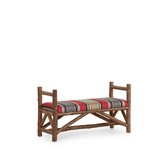 Rustic Bench #1114 (Shown in Natural Finish)