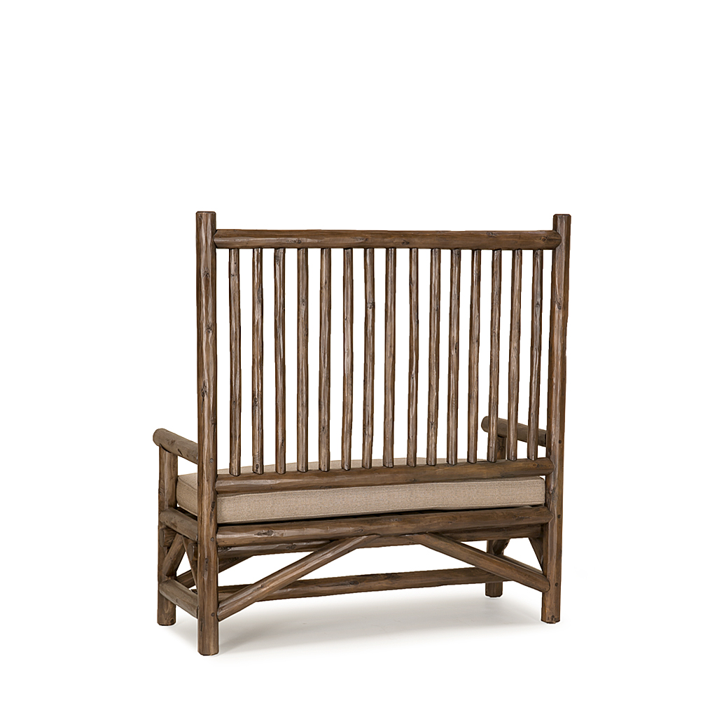 ... Rustic Deaconu0027s Bench #1149 With Optional Loose Seat Cushion Shown In  Kahlua Premium Finish ...