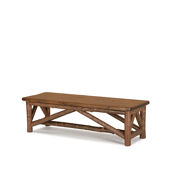 Rustic Bench #1522 (Shown in Natural Finish)