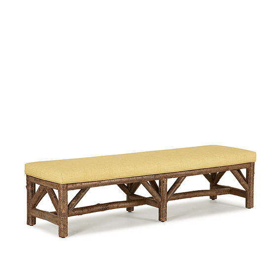 Rustic Bench #1532 (Shown in Natural Finish)