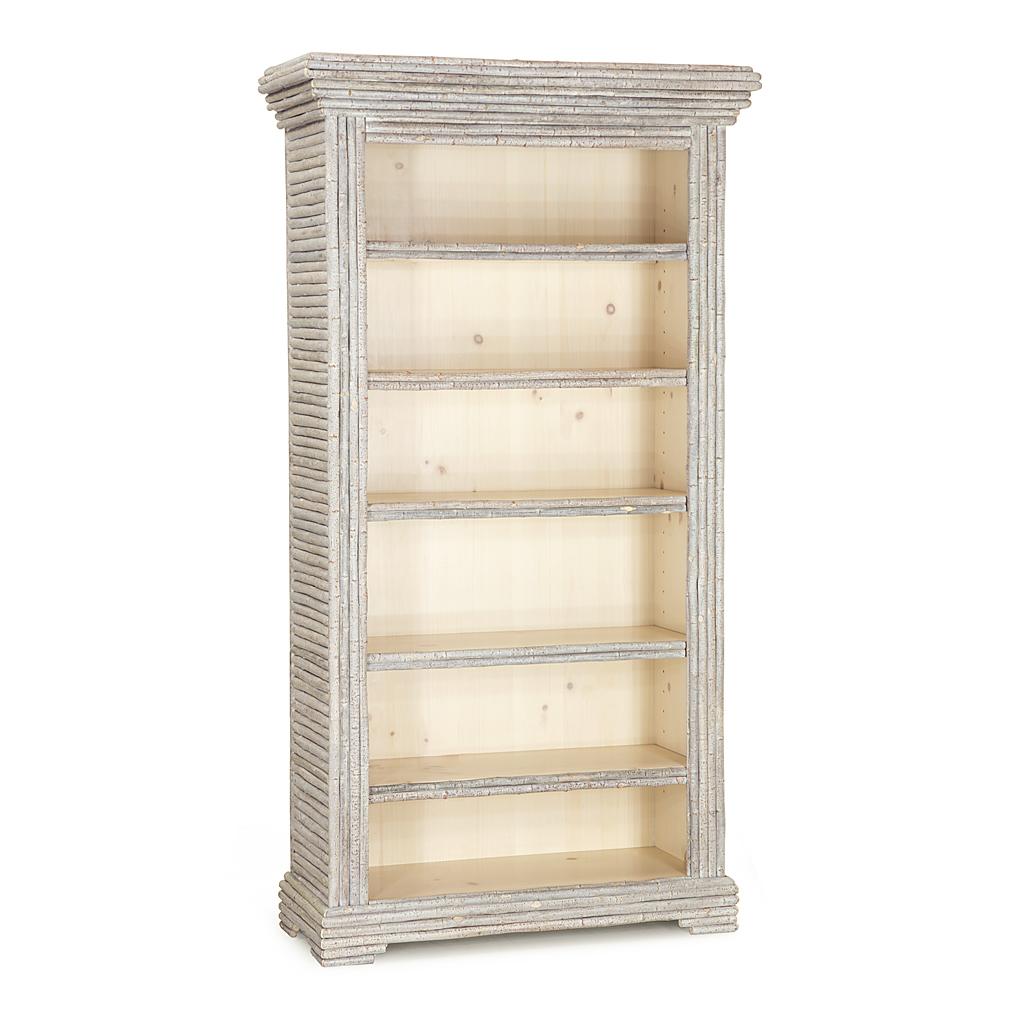 bookcase w puebla wash door rustic barn white