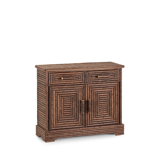 Rustic Buffet #2114 shown in Natural Finish (on Bark)