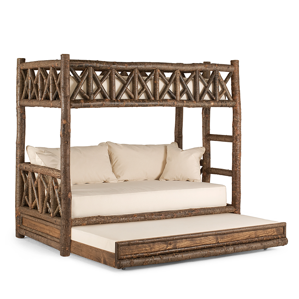 Rustic Bunk Bed With Trundle La Lune Collection