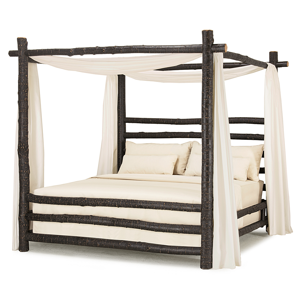Metal canopy bed king full size of cove white canopy for Buy canopy bed frame