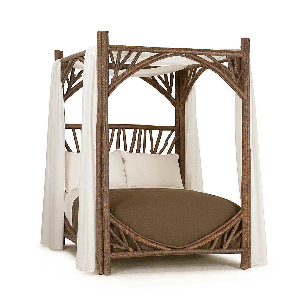 Picture of: Rustic Canopy Bed La Lune Collection