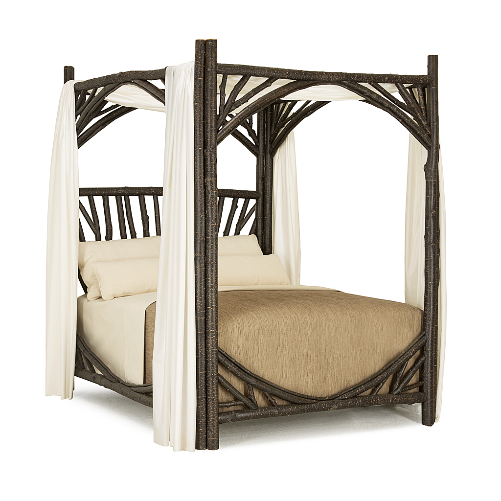 Image of: Rustic Canopy Bed La Lune Collection