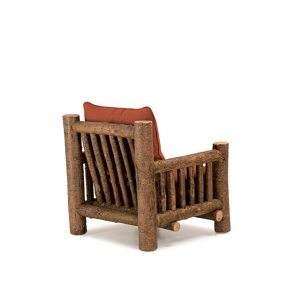 ... Rustic Lounge Chair #1276 Shown In Natural Finish (on Bark) La Lune  Collection ...