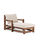 Chaise #1250 shown in Natural Finish (on Bark) La Lune Collection