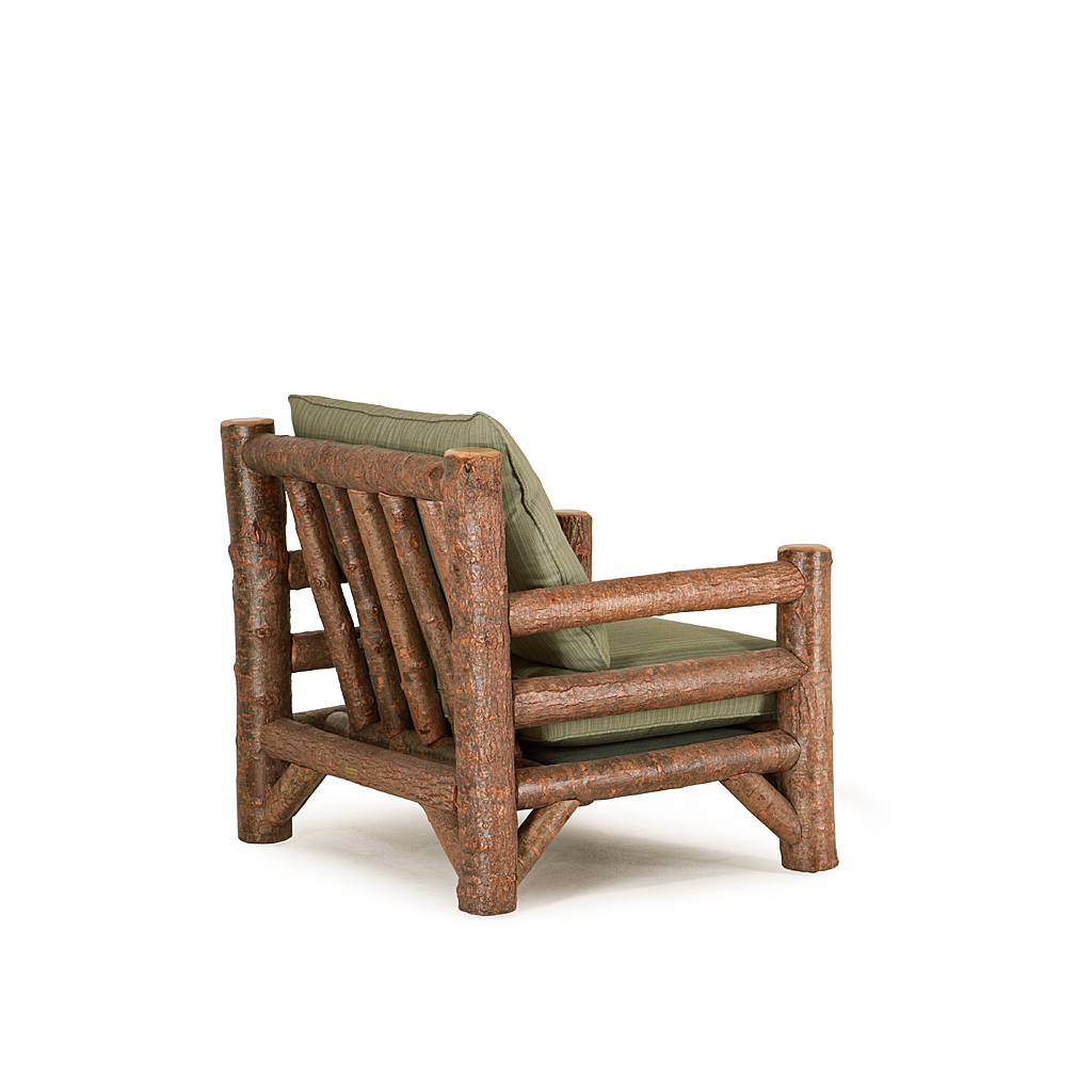 ... Rustic Lounge Chair #1248 Shown In Natural Finish (on Bark) La Lune  Collection