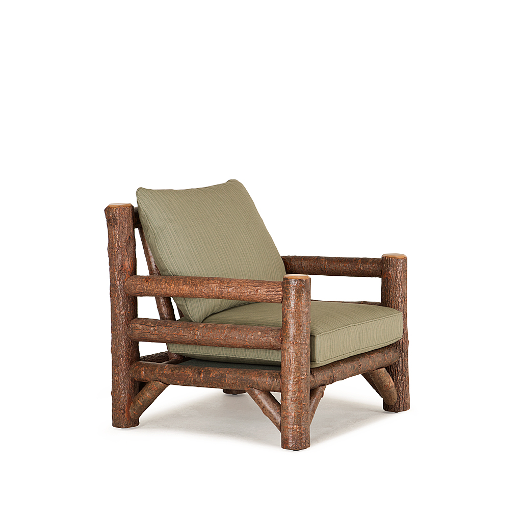 ... Rustic Lounge Chair #1248 Shown In Natural Finish (on Bark) La Lune  Collection ...