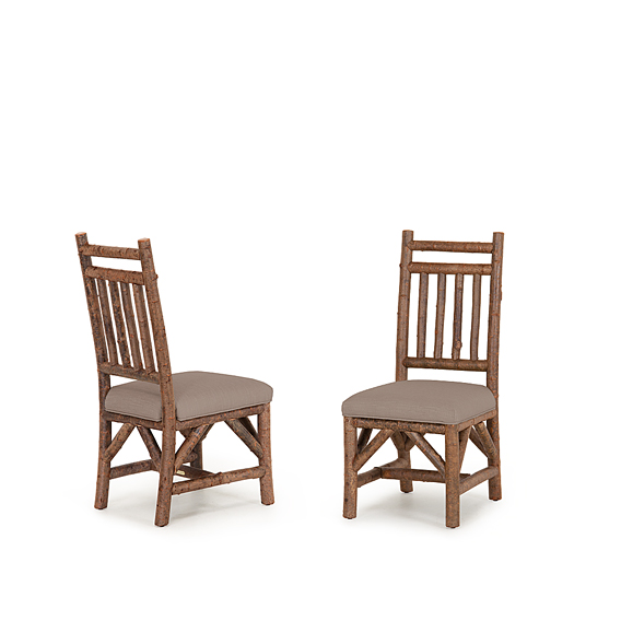 Rustic Dining Side Chair #1622 (Shown in Natural Finish)