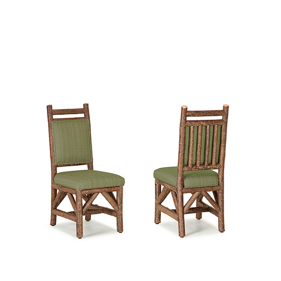 Rustic Dining Small Side Chair #1617 (Shown in Natural Finish)