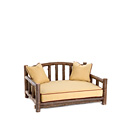 Dog Daybed #5102 shown in Natural Finish (on Bark) La Lune Collection