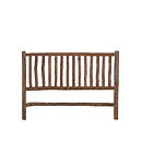 Headboard King #4032 shown in Natural Finish (on Bark) La Lune Collection