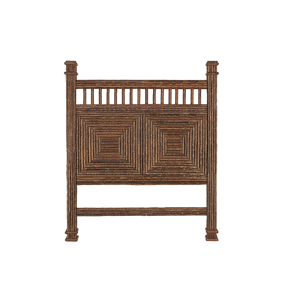 Rustic Headboard Queen #4216 (Shown in Natural Finish)