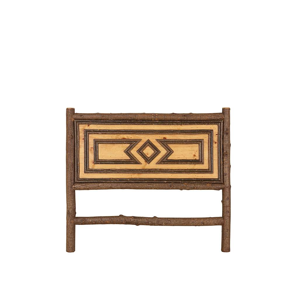 Rustic headboard la lune collection for Rustic headboard with lights