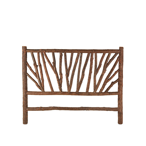 Rustic Headboard King #4290 (shown in Natural Finish)