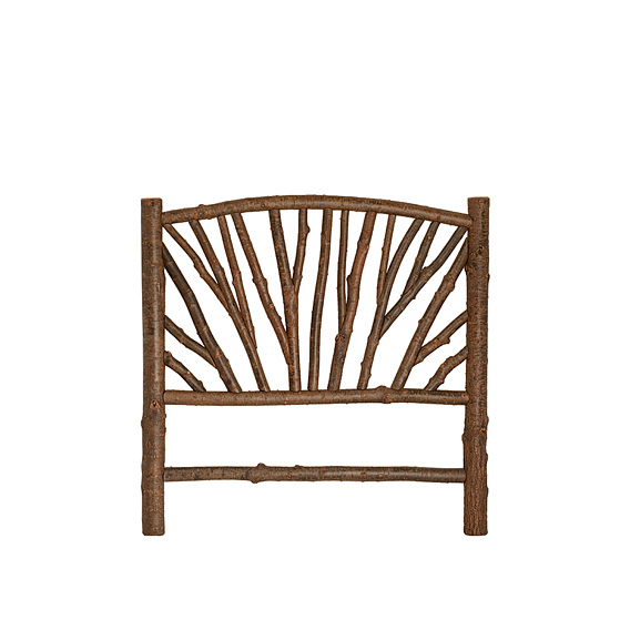 Rustic Headboard Queen #4664 (shown in Natural Finish)
