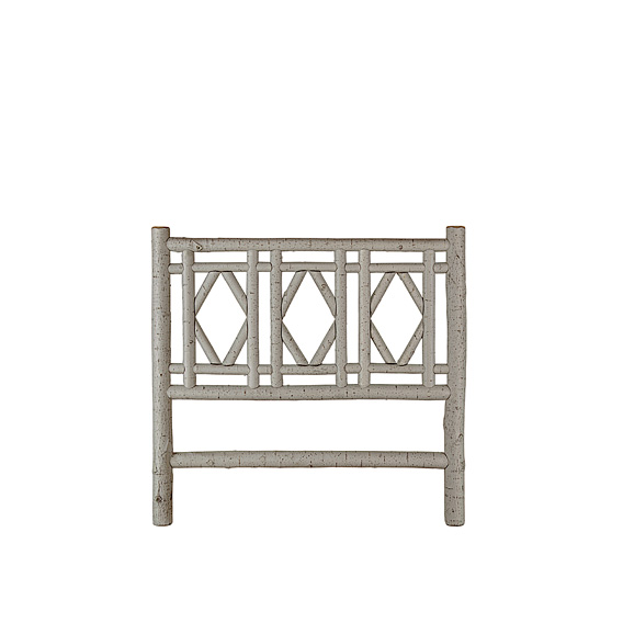 Rustic Headboard Full #4721 (Shown in Pewter Finish)