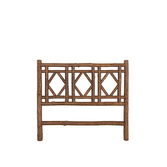 Rustic Headboard Queen #4722 (Shown in Natural Finish)