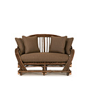 Loveseat #1000 shown in Natural Finish (on Bark) La Lune Collection