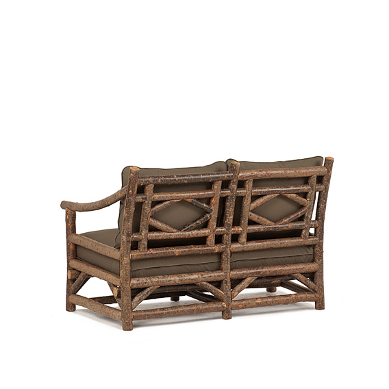 Rustic Loveseat #1177 (Shown in Natural Finish)