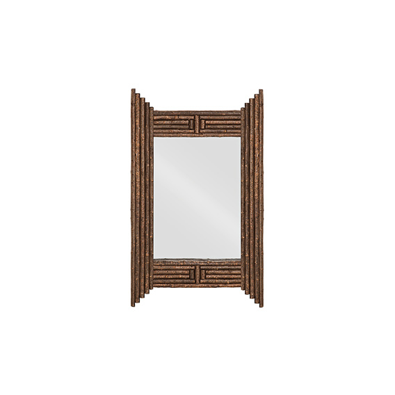 Rustic Mirror #5030 (shown in Natural Finish on Bark)