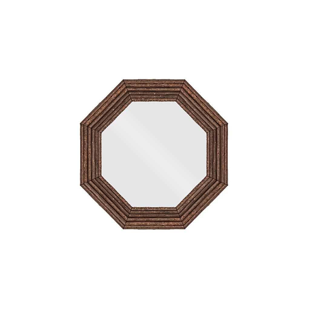 Rustic mirror la lune collection for Rustic mirror