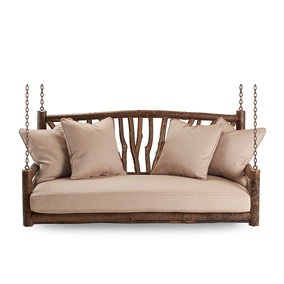 Rustic Porch Swing #1554 (shown in Natural Finish)