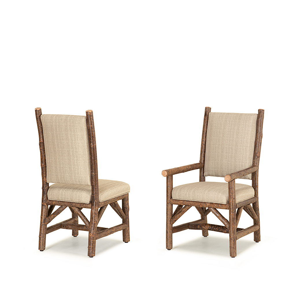 Rustic Dining Side Chair Amp Arm Chair La Lune Collection