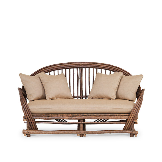 Rustic Medium Sofa #1002 (shown in Natural Finish)